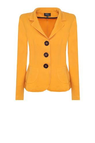 10456 tricot fleece wol blazer