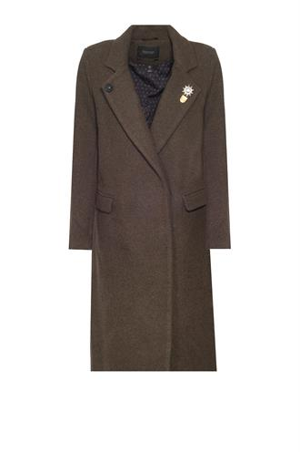 146227 wollen coat lang army