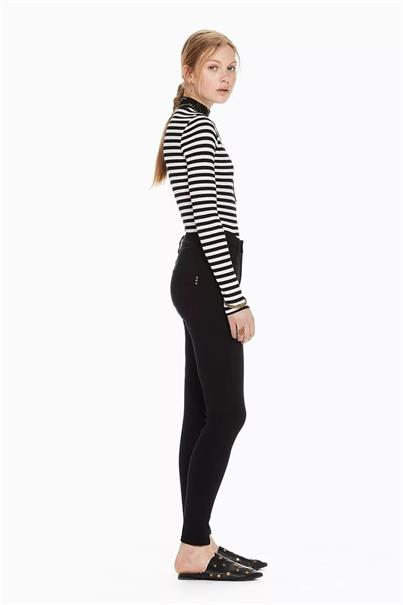 148148 haut high rise skinny