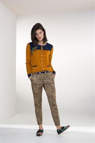 183heloise animal print broek