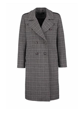 183lisan coat glen check ruit
