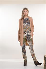 184miley print blouse satijn