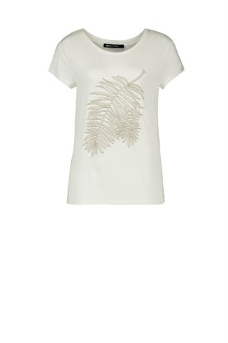 192fanny t-shirt borduur leaf