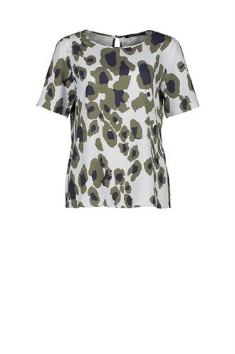 193lou print blouse all-over