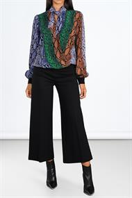 2s2319-10978 blouse snakeprint