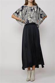 2s2363-11120 blouse top leaves
