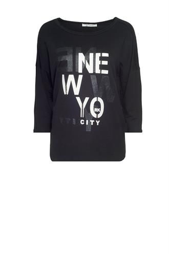 404737 print t-shirt new york