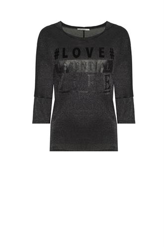803320 shirt lurex love tekst