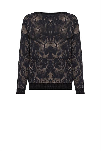 803455 sweater rebel print