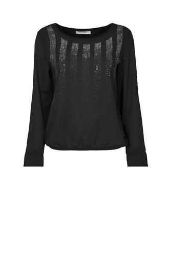 804473 crepe blouse diamond