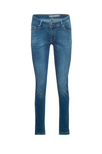 81871y-49 jeans donkere tape