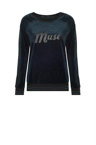 83518-10 sweater velours muse