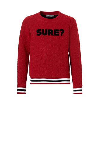 83708-60 sweater sure tekst