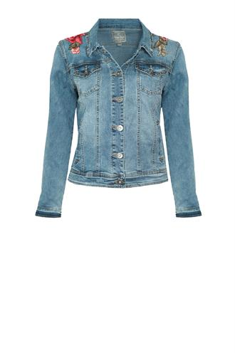 85010 jeans jacket borduur