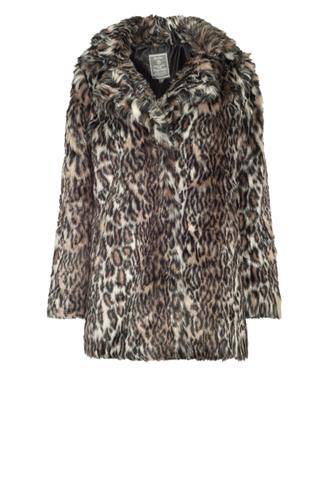 88533-11 fake fur coat leopard
