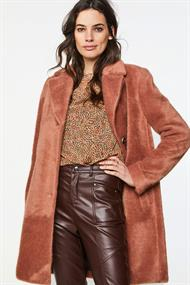 Aaiko isko hairy coat blazer model