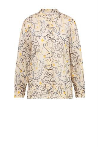 Aaiko rilana print blouse chains