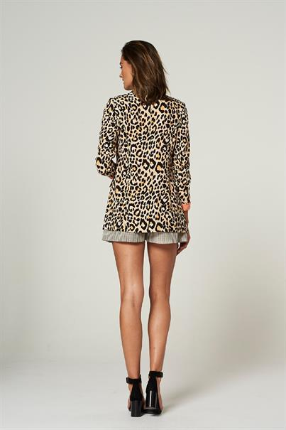 Adeline animal print blazer