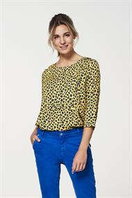Alta blouse top animal print