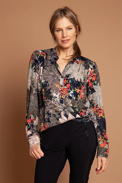 Annemarie flower blouse