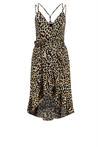 Annika animal print jurk