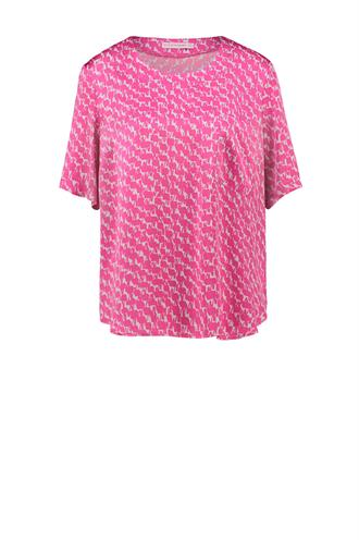 Astrid shirt satijnen blouse
