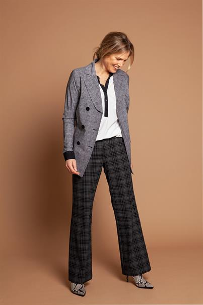 Avery check trousers tr medium
