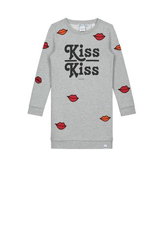 Babe kiss sweatdress g 5-862