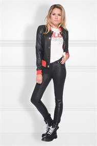 Betty coated skinny jeans