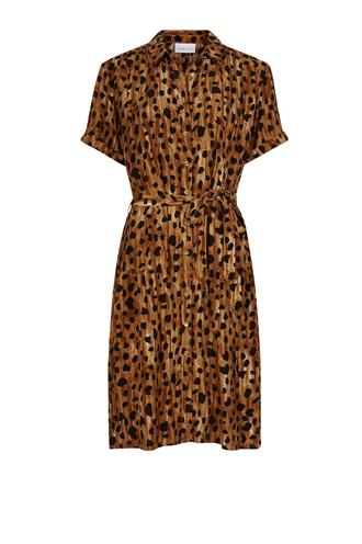 Boyfriend dress cheeky cheetah