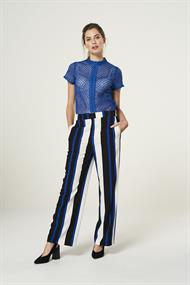 Calida stripe pantalon wijd