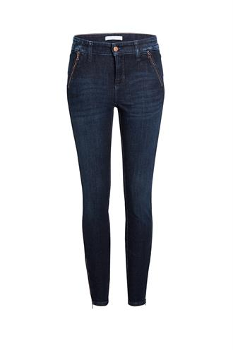 Cambio Donker jeans Parla zip 9145 0073 08 jeans