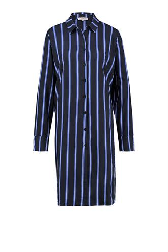 Carmo stripe blouse dress
