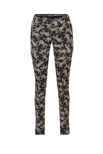 Cg219aw65 tricot broek leopard