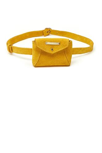 Cindy mini purse belt leather