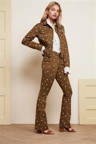 Cyprus jacket dotty print