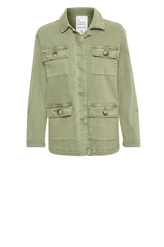 Denim Hunter army jacket heavy twill
