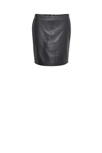 Denim Hunter leather skirt 10702837