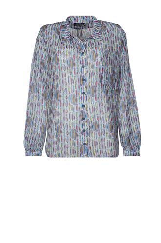 Dividere il de re vissenprint blouse