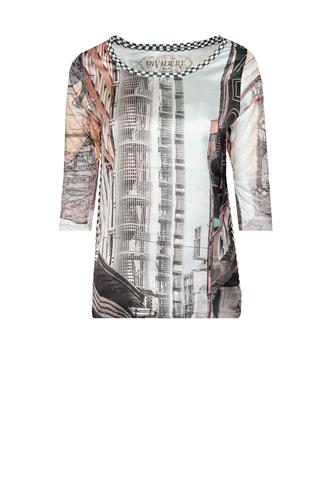 Dividere Madrid print t-shirt
