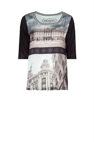 Dividere Madrid02 print t-shirt