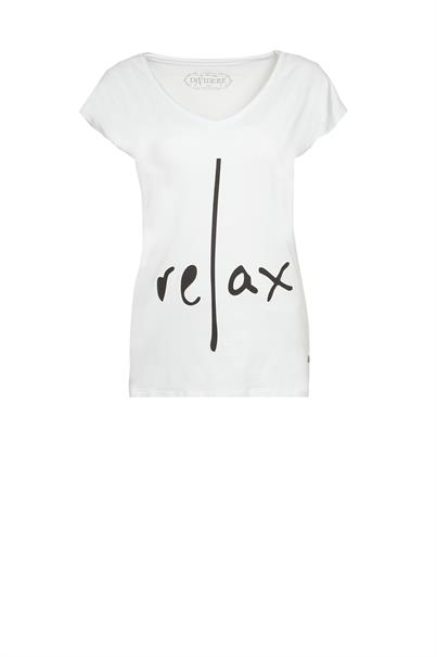 Dividere relax print t-shirt