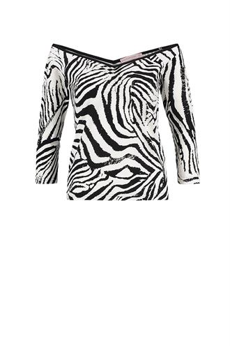 Elize zebra shirt travel