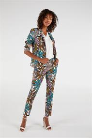 Expresso Fashion 201dante print pantalon leaf