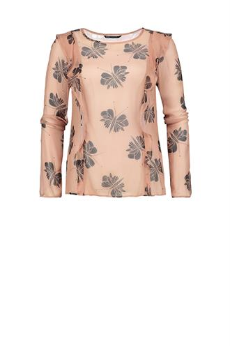 Expresso Percy print blouse butterfly