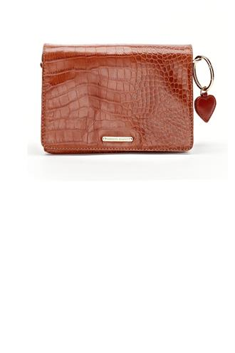 Fabienne Chapot felice small bag croco