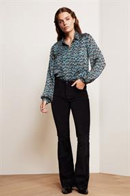 Fabienne Chapot frida collar blouse peacock
