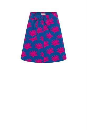 Fabienne Chapot harry skirt biggest fan print