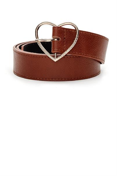 Fabienne Chapot heart belt real leather