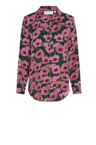 Fabienne Chapot lily blouse purple poppies